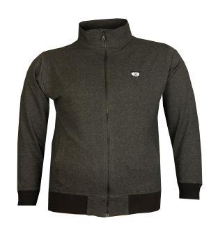 Büyük Beden Baharlık Fermuarlı Sweatshirt 80016 Marango