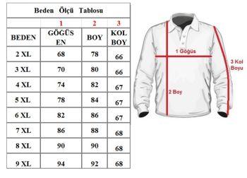 Büyük Beden Bisiklet Yaka Kazak 91051 Siyah