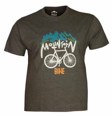 - Büyük Beden Bisiklet Yaka T-shırt 75048 Marango