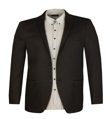 - Büyük Beden Blazer Ceket 99902 Siyah