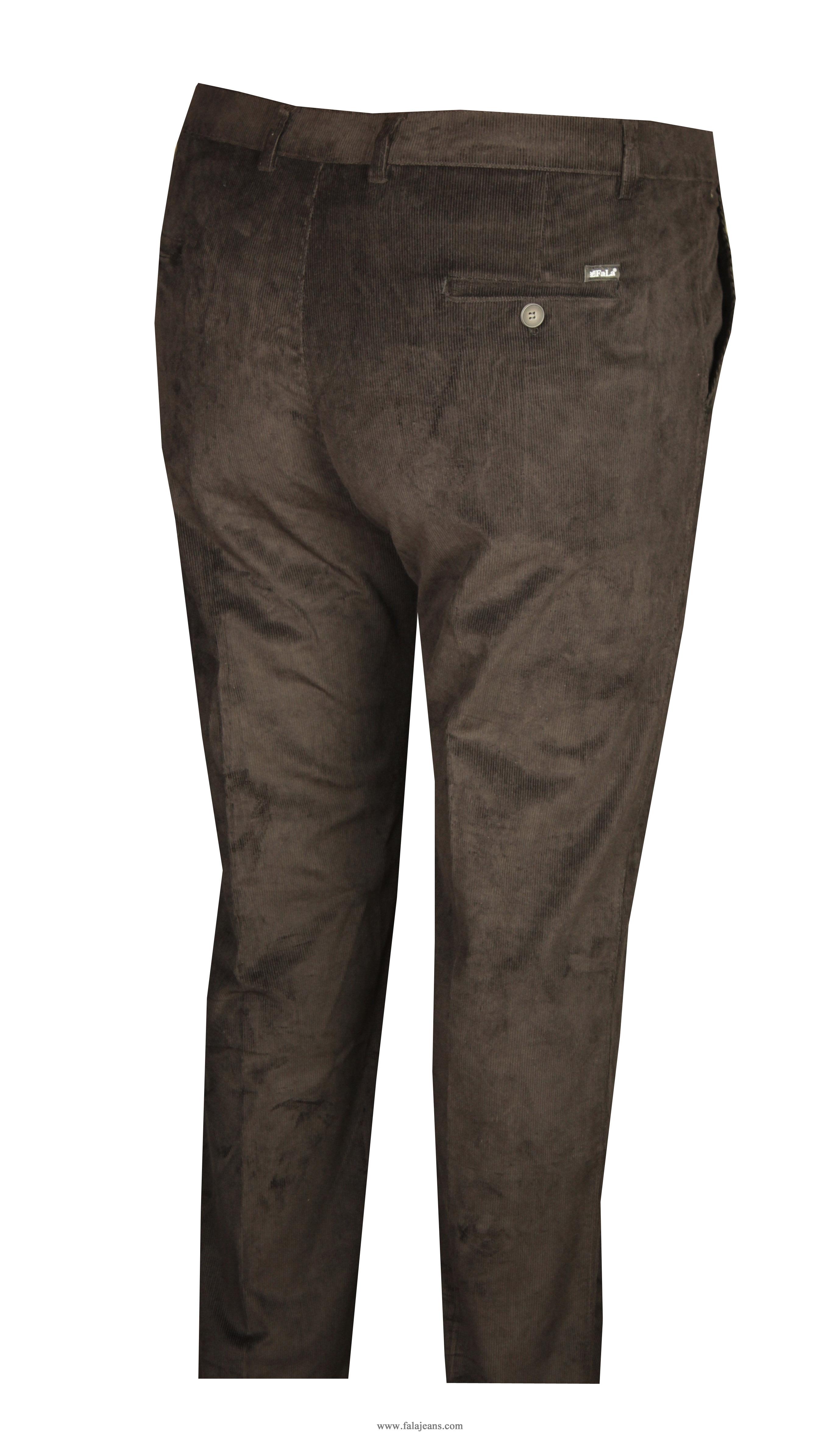 Büyük Beden Kadife Pantolon Siyah 97171