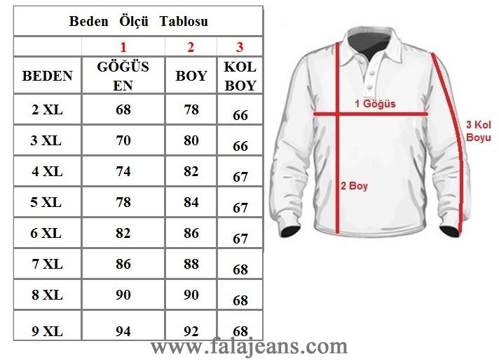 Büyük Beden Polo Yaka Cepli Kazak Kahverengi 91050