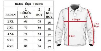 Büyük Beden Polo Yaka Kazak 91031 Lila