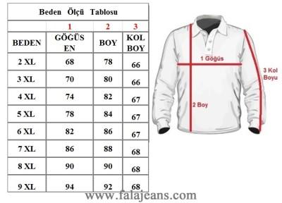Büyük Beden Polo Yaka Selanik Tişört 98414 Bordo - Thumbnail
