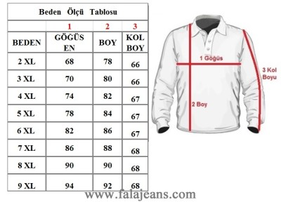 Büyük Beden Polo Yaka Selanik Tişört 98414 Lacivert - Thumbnail