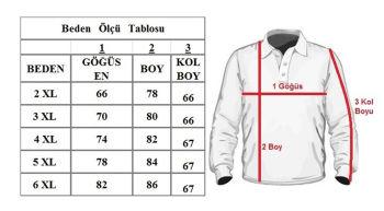 Büyük Beden Polo Yaka Yünlü Kazak 91033 İndigo