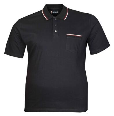 - Büyük Beden Polo Yk Lakos T-Shirt 76101 Lacivert
