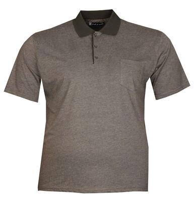 - Büyük Beden Polo Yk Penye T-Shirt 76102 Marango
