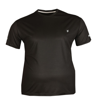 - Büyük Beden Sporcu Tshirt Siyah 75018