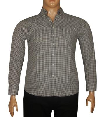 - Büyük Beden Uzun Kollu Gömlek 95350 Siyah