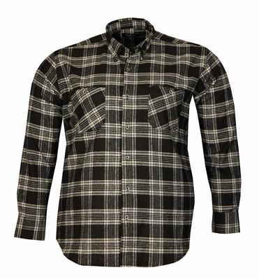 - Büyük Beden Uzun Kollu Oduncu Gömlek Siyah 95387