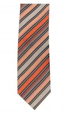 - Desenli Kravat/ 87029-1/Oranj